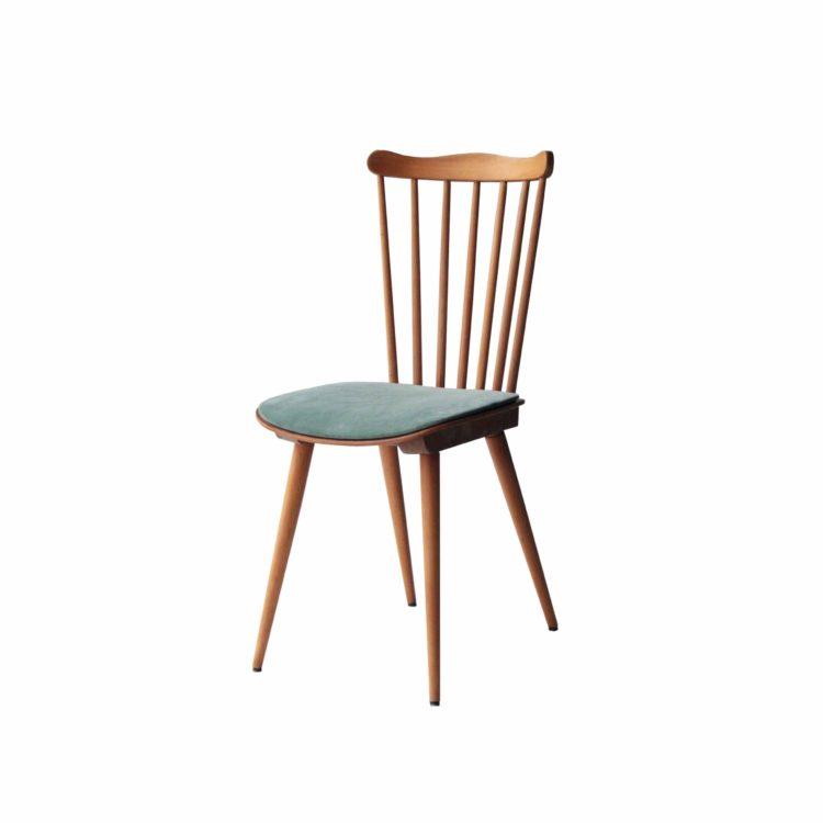 Conjunto de cuatro de sillas de teca casa Bahuman 15