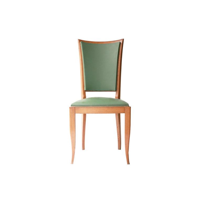 Conjunto seis sillas. Francia, 1940. 7