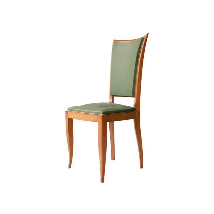 Conjunto seis sillas. Francia, 1940.3