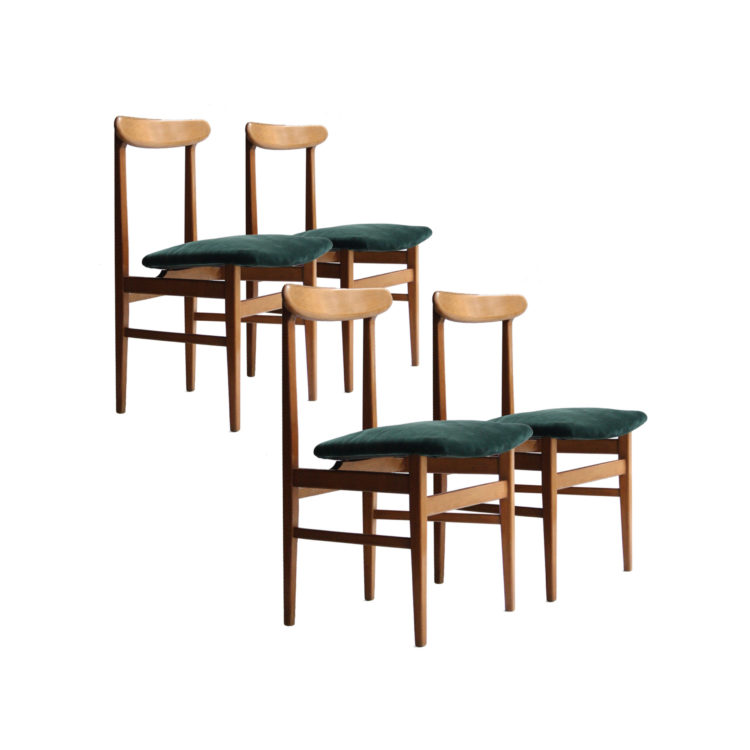 IKB22370058 Conjunto de cuatro sillas