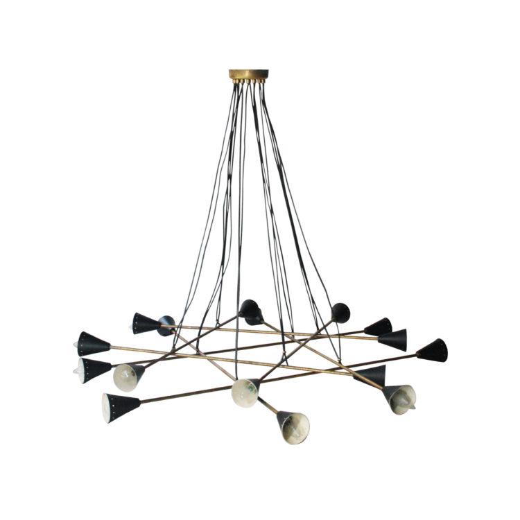 IKB19220032—-Lámpara-de-techo-de-latón-y-lacada-en-negro—-1